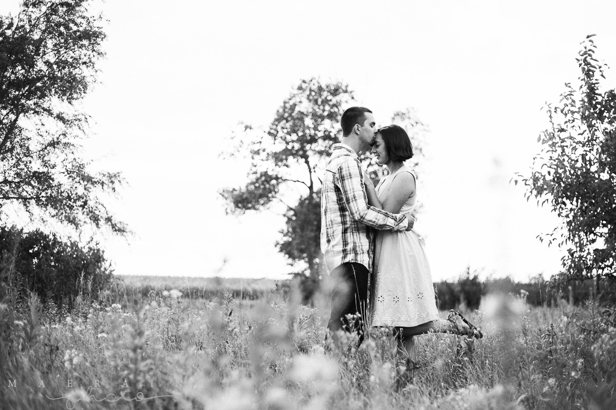 Tyson + Paige + Love Story. Manhattan, KS Photographer. Wedding and Engagement Photographer.