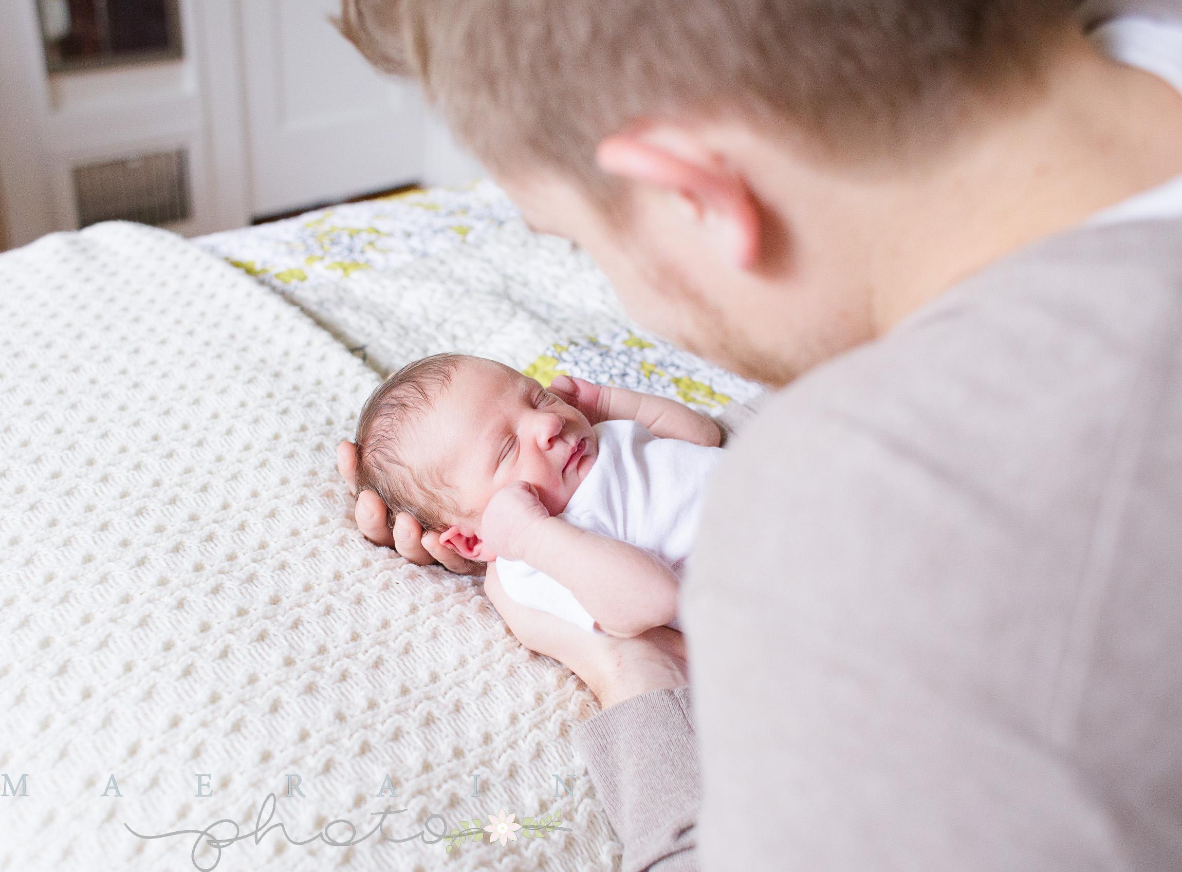 Teaney Lifestyle Newborn. Manhattan Photographer. Lifestyle Photographer.