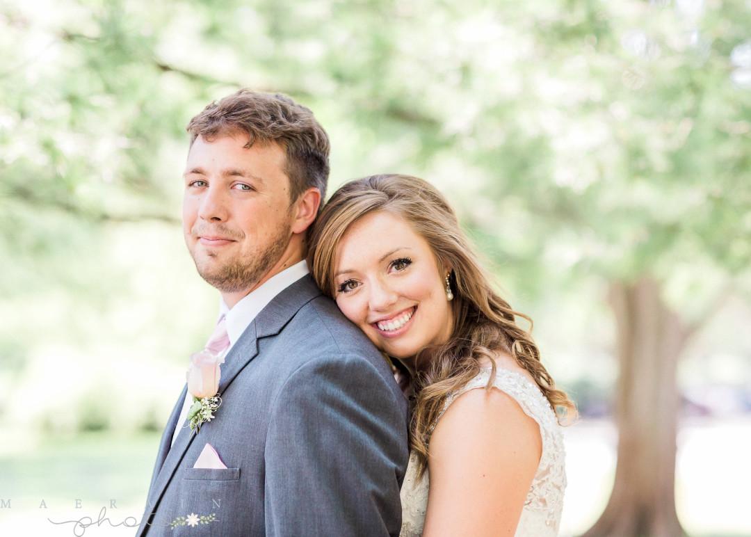 Cameron + Kyla Happily Ever After. Kansas Wedding.