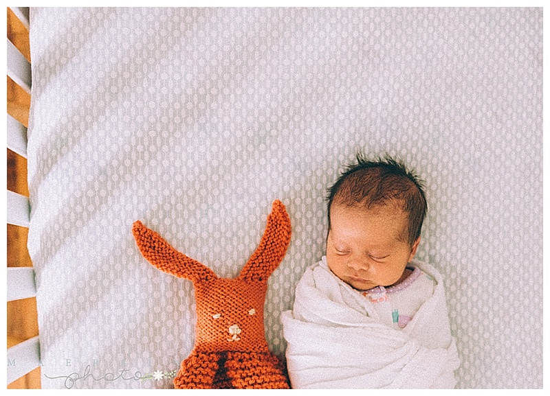 Baby Margaux + Lifestyle Newborn Session. Manhattan KS Newborn Photographer.