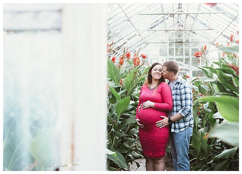 Brooke + Wayne Maternity. Manhattan, KS Photographer. Kansas Photographer.