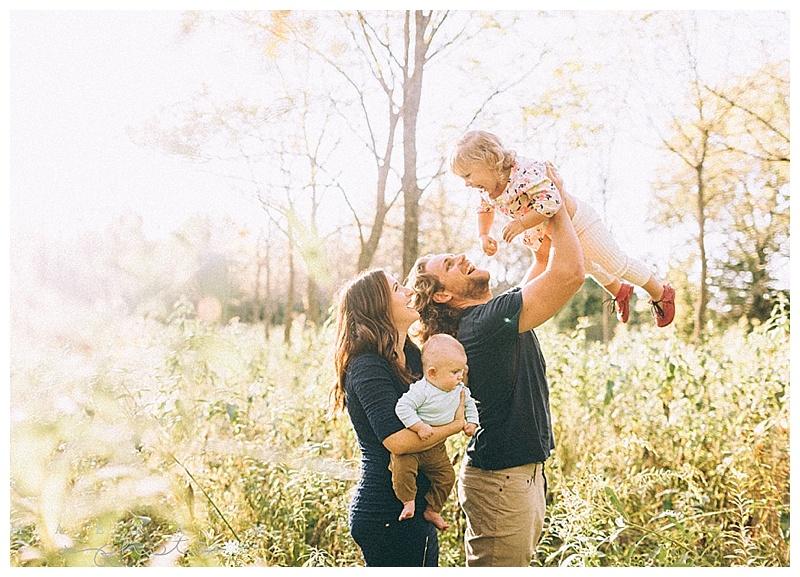 Mary + Family. Manhattan Kansas Family Photographer.