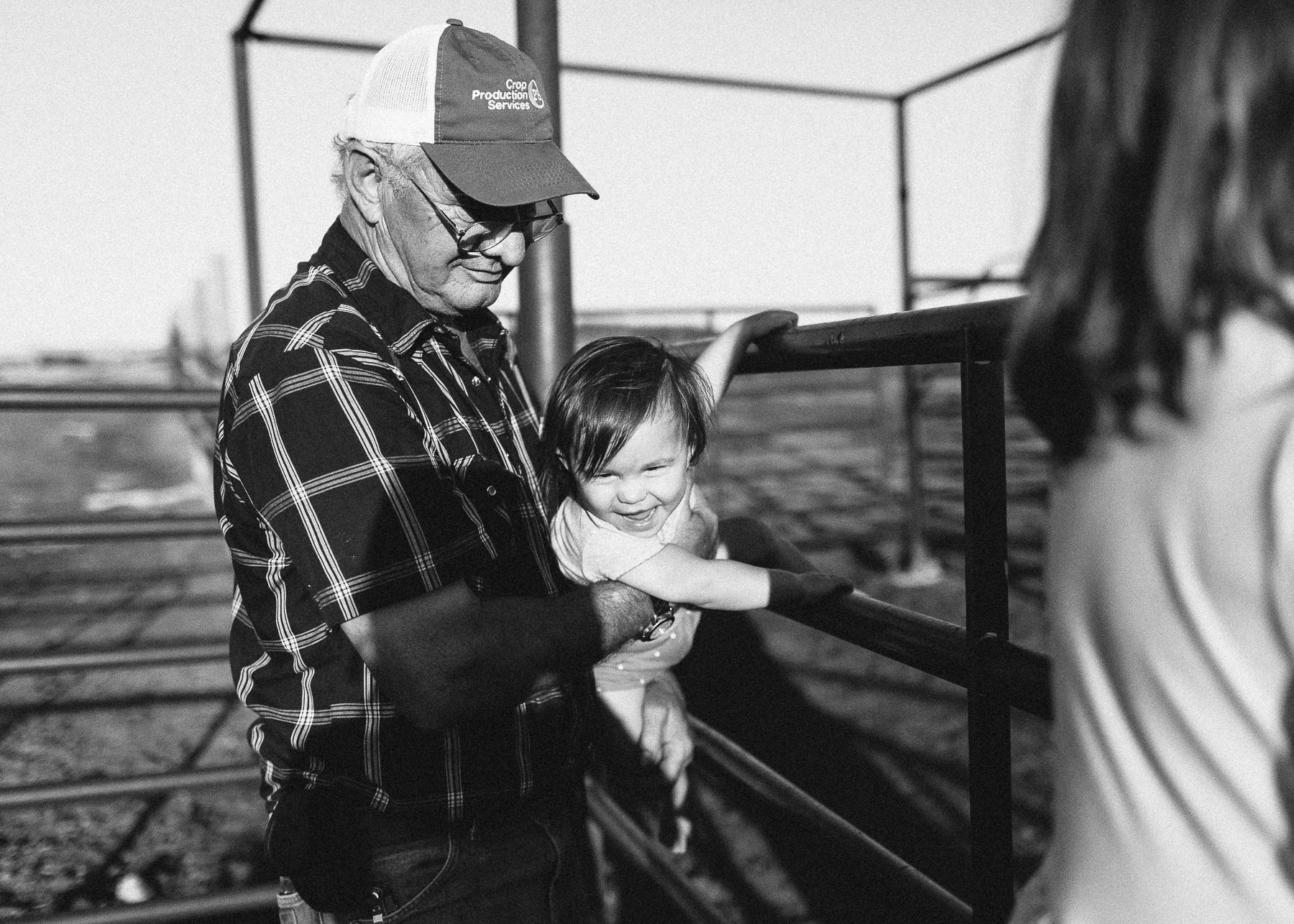 papa and baby