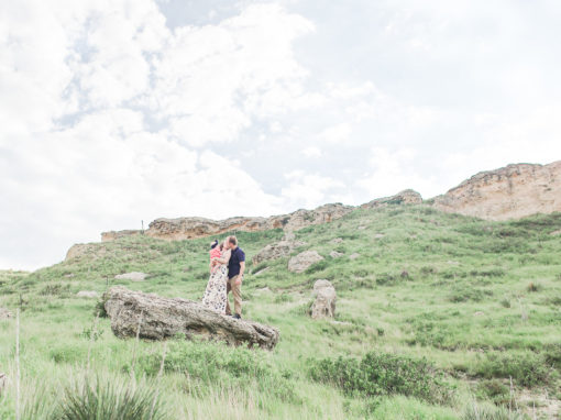 Paulson Family|Castle Rock Kansas|Hays KS Photographer