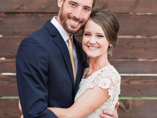 Eric + Katie | Spring Wedding | Topeka, KS Photographer