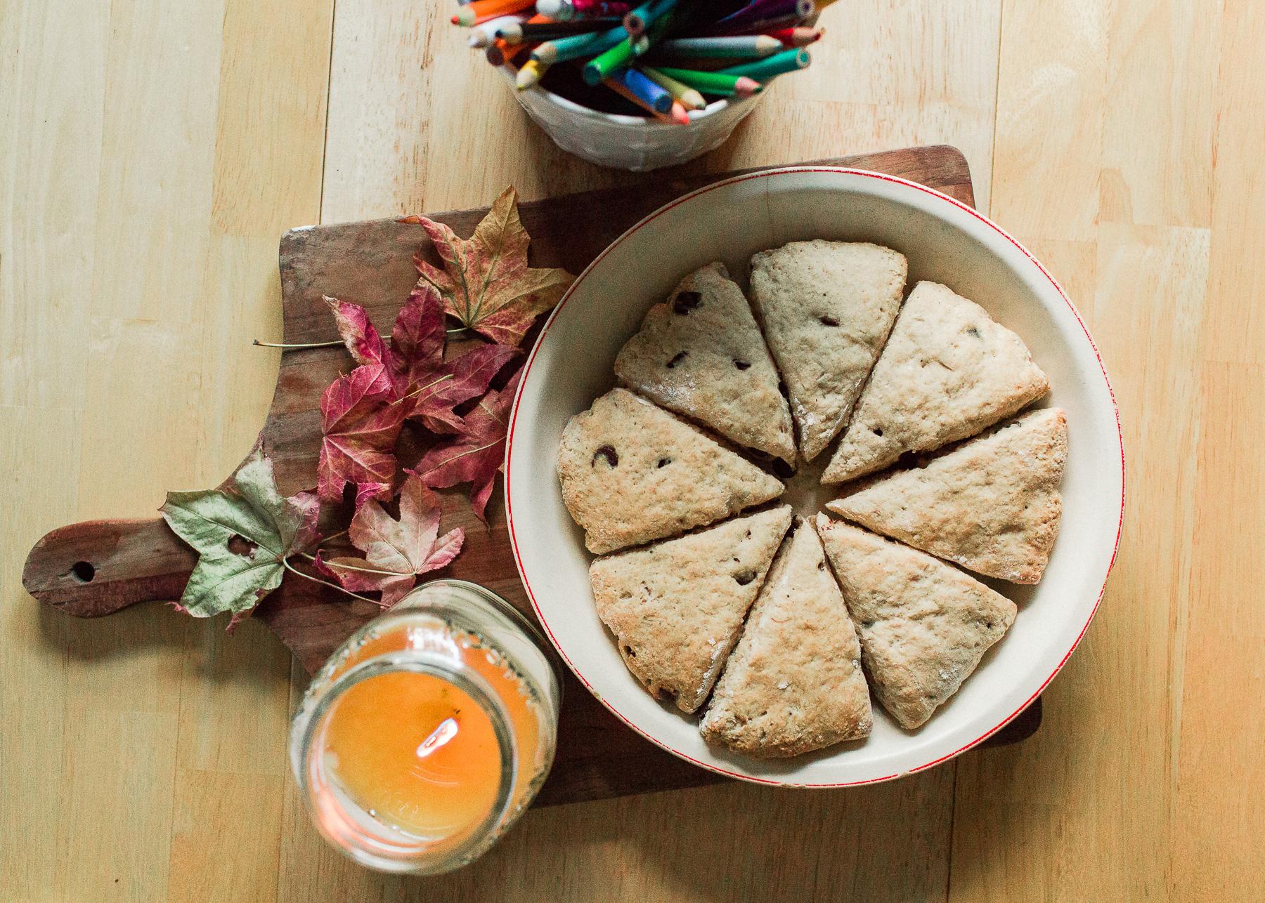 scones for breakfast